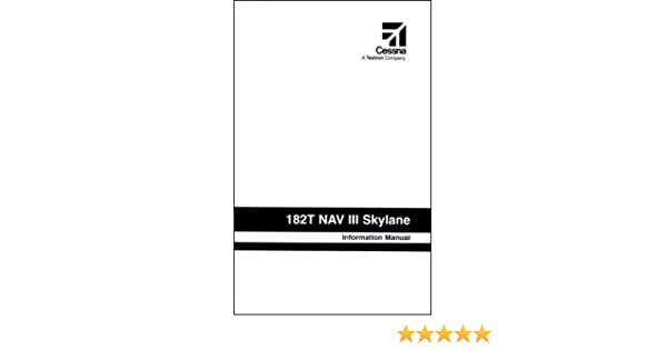 Cessna Turbo Skylane Aircraft Information Manual W Garmin