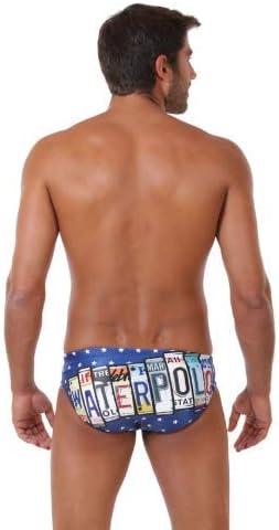 ZUMO Swim License to Play Men/'s Swim Briefs and Water Polo Swimsuit