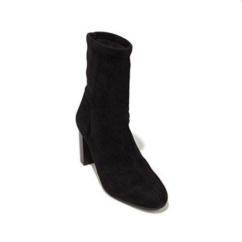 Vince Camuto Women's Sendra Ankle Bootie, Black, 6.5 M US