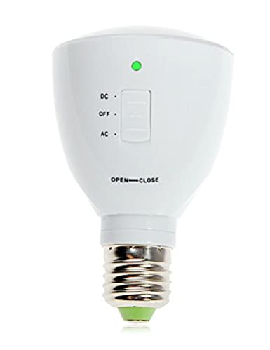 BD 2-in-1 bombilla como linterna, recargable de emergencia bombilla LED,