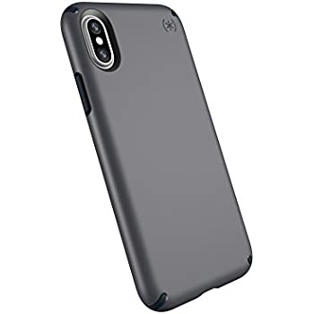 online store 6445c 50586 Speck Products Compatible Phone Case for Apple iPhone Xs and iPhone X,  Presidio Mount Case, Graphite Grey/Charcoal