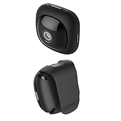 Matego Hidden Camera 1080P Pocket Wireless WiFi Spy Camera with Several Kinds of Mounts and Compatible with iOS/Android Phone APP