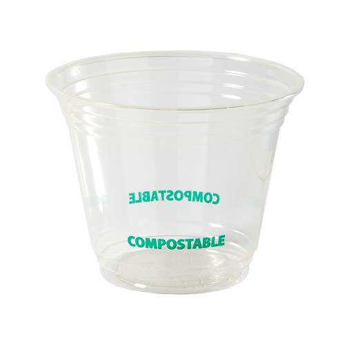 Eco Guardian 9 Ounce PLA Compostable Cold Cup, Clear, 1000 pack by Eco Guardian (Image #7)