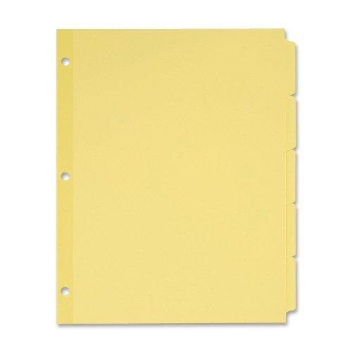 Avery Plain Write Dividers 11501