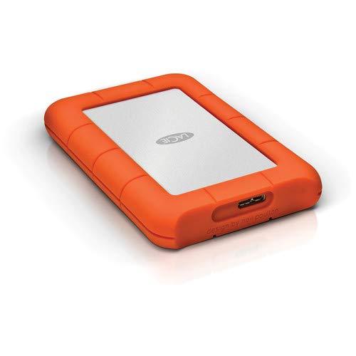 LaCie Rugged Mini 2TB External Hard Drive Portable HDD - USB 3.0 USB 2.0 compatible