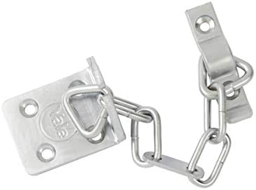Yale High Security Door Chain Satin Chrome Finish Fittings Wood /& Metal Doors