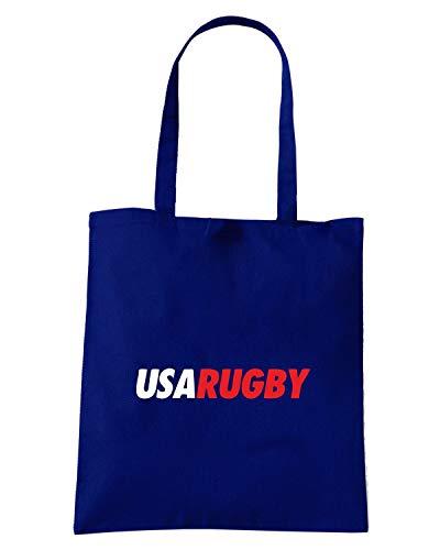 USA Shopper RUGBY Blu Shirt Speed TRUG0095 RUGGERS Navy Borsa 1w0ngaqP