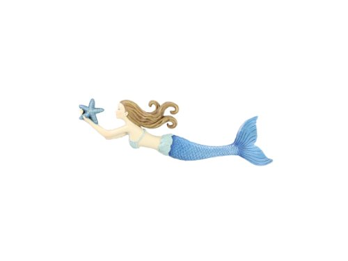 (Young's Resin Mermaid Wall Art, 14-Inch)