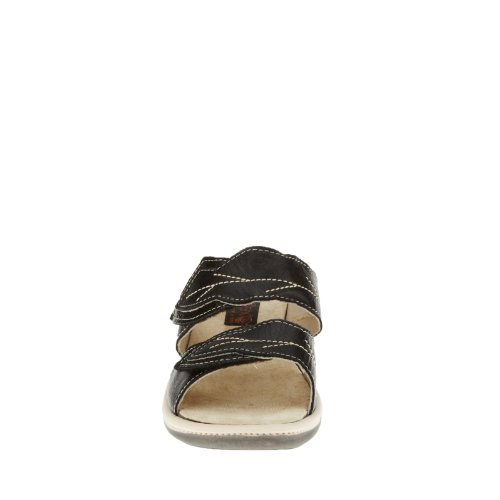 Slide Napa Brenda Flex Black Sandals Women's twrwA7qT