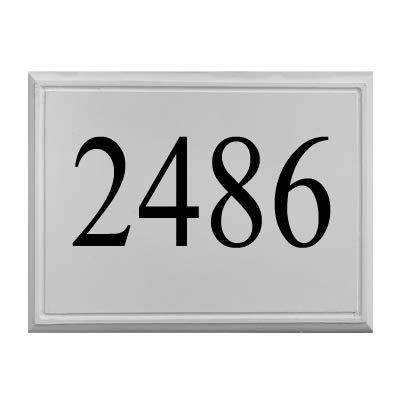 ABC Address Blocks Personalized Stone Address Plaque 13