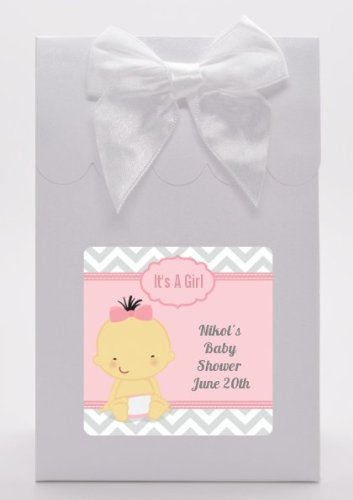 Amazoncom Its A Girl Chevron Asian Baby Shower Goodie Bags