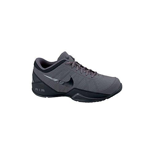 Nike Mens Air Ring Leader Low Top Basketball Shoe, Dark Grey/Black, US 9