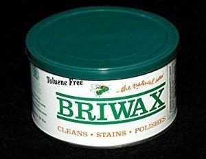 Briwax - Rustic Pine - Toluene Free Furniture Wax - - Antique Wax Pine