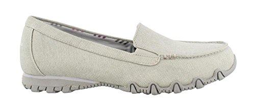 Skechers Shoes Bikers On Hyphen Slip Grey Women's xUORq7nf