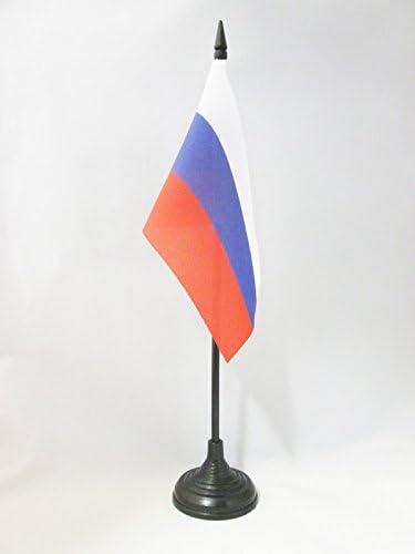 AZ FLAG Bandera de Mesa de Rusia 15x10cm BANDERINA de DESPACHO Rusa 10 x 15 cm
