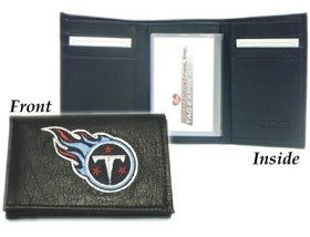 Rico Tennessee Titans Embroidered Tri Fold Wallet
