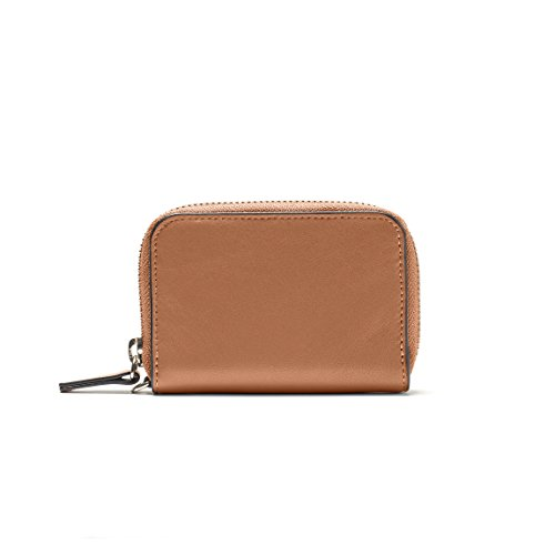 Key Fob Card Pouch - Full Grain Leather Leather - Cognac (brown) 5 Sweetheart Everything Box