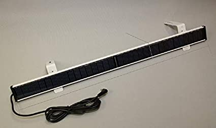 21mm Tube Rollerhouse Automatic Solar Roller Blinds for Windows Indoor with Internal Re-Chargeable Lithium Battery Fits 3//4