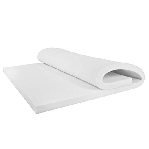 3'' Twin Size Memory Foam Mattress Pad, Bed Topper 39''x75''x3'' by PTY-Shop-forU