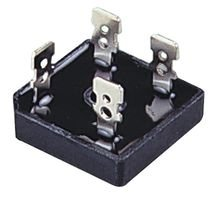 SOLID STATE KBPC2506 BRIDGE RECTIFIER, SINGLE, 25A, 600V, QC (5 pieces)