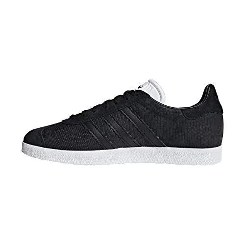 Core Core Zapatillas Adidas Core de White Ftwr Black Negro Black Core White para W Black Mujer Gimnasia Ftwr Black Gazelle wgq8v