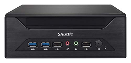 Shuttle XPC Slim XH310 Mini Barebone PC Intel H310 Support 65W Coffee Lake CPU No Ram No HDD/SSD No CPU No OS