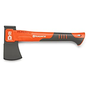 Husqvarna 580761001 H900 13.5 in. Drop-Forged Steel Hatchet with Fiberglass Handle Orange/Gray