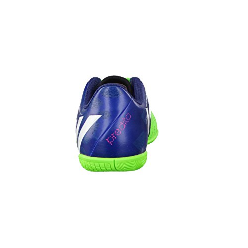 Predito Instinct - Bota de Fútbol Sala para Niño/Chico Bota de Interior Júnior - azul / verde neón, Sintético, 11.0K UK - 29.0 EU