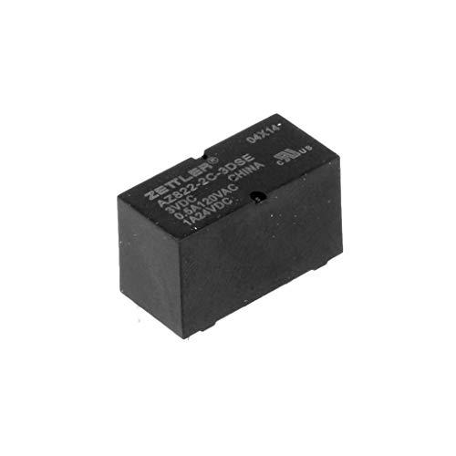 American Zettler AZ822-2C-5DSE 5VDC 167 Ohm 2A DPDT THT Sub Miniature DIP Signal Relay (Dpdt Relay 1a)