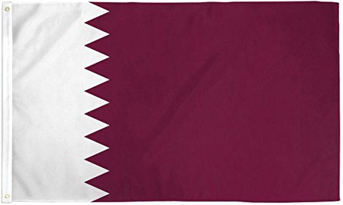 qatar flag flags super polyester