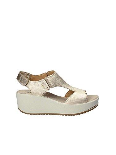 Femme Jaune 39 Sandale 1176 Compensée co Igi acWqITAa