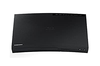 Samsung BD-J5700 Curved Blu-ray Player with Wi-Fi 2015 Model - (Certified Refurbished) by Samsung