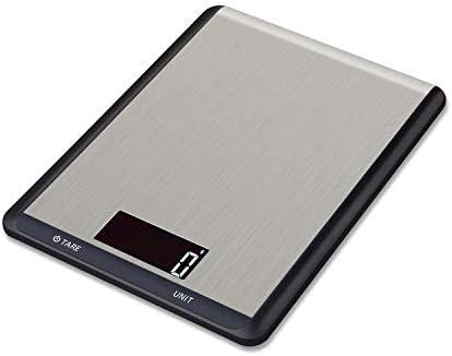Hotchy Digital Báscula con Pantalla LCD para Cocina de Acero Inoxidable, 5kg/1lbs,Balanza de Alimentos Multifuncional, Peso de Cocina, Color Plata (Baterías Incluidas): Amazon.es: Hogar