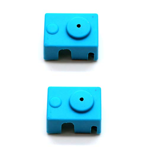 Printer Front Cover - 2 Pcs E3d V6 Heater Socks 3D Printer Metric Silicone Cover Wrench Set for Wanhao I3 MK10 Style Extruders