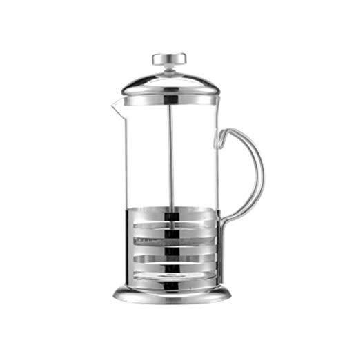 350 ml de acero inoxidable Cafetera French Press café Ollas delicado émbolo de café Tetera Cafetera Prensa Portatil café…