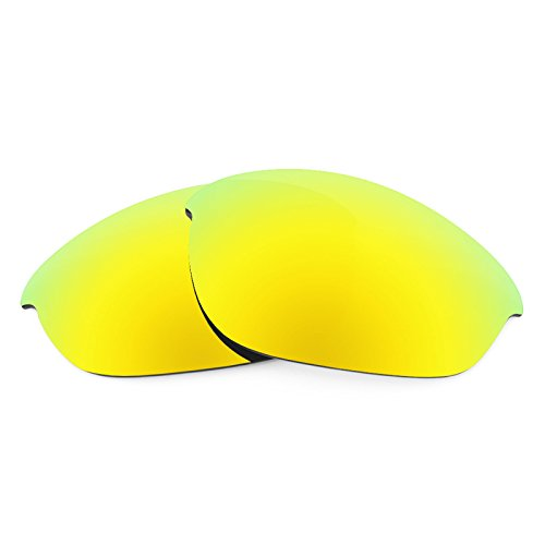 Revant Polarized Replacement Lenses for Oakley Half Jacket Bolt Gold MirrorShield