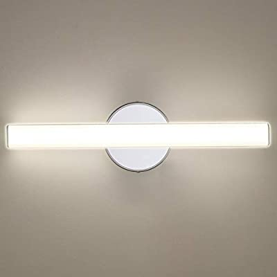 OOWOLF LED Vanity Lights, 12W 17.3in LED Mirror Front Light 4000K 1200LM Bathroom Lighting Fixture Wall Lamp Make-up Mirror Front Light, Natural White