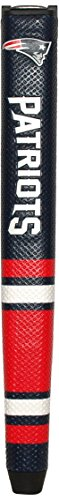 Team Golf NFL New England Patriots Golf Putter Grip with Removable Gel Top Ball Marker, Durable Wide Grip & Easy to Control