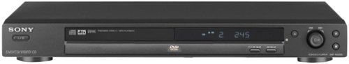 Sony DVP-NS325B DVD Player, Black