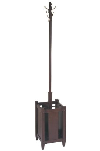Sumatra Coat Tree With Umbrella Stand, 70