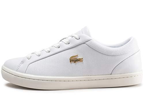 Mode Blanc Straightset Lacoste Femme Crsqu Baskets rxBeWdCo