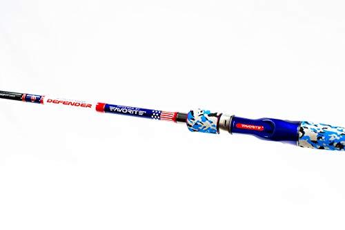 FAVORITE Defender Powered Casting Rod