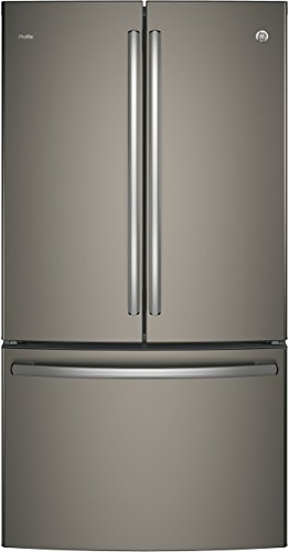 GE Profile PWE23KMKES 36' Energy Star Counter Depth French Door Refrigerator with 23.1 cu. ft. Capacity,