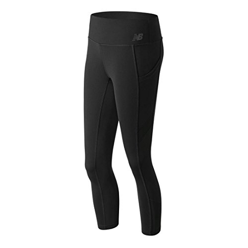 New Balance Women's Premium Performance Crop Black MD (New Balance Comfort Pant)