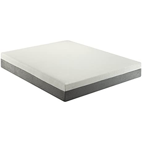Poundex F8250F Bobkona Cecilie 10 Inches Memory Foam Mattress Full