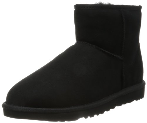 Ugg Men's Classic Mini Winter Boot - Black - 17 D(M) US