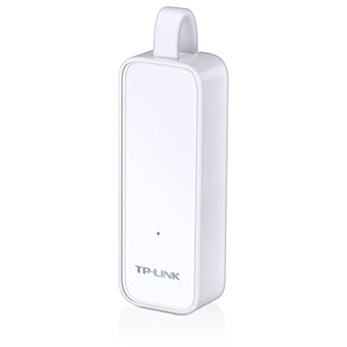 TP-LINK TL-UE300 USB 3.0 to RJ45 Gigabit Ethernet Network Adapter Supporting 10/100/1000 Mbps Ethernet, Plug and Play