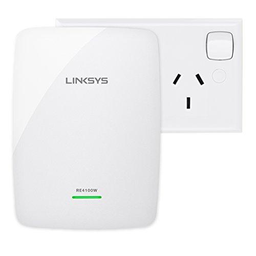 Linksys Dual Band Wireless N600 Range Extender Re4100w Au Amazon
