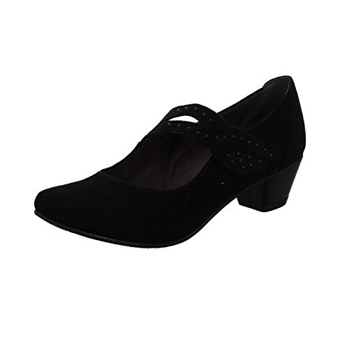 Jana Femmes Noires Talons Pour Chaussures À 8zRqHnxz