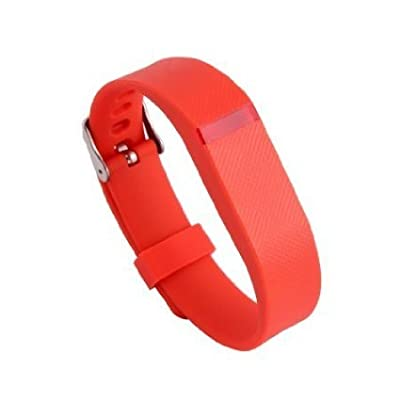 Replacement Wrist Band Buckle for Fitbit Flex - Code001 orange